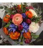 Lillekimp hooajalistest lilledest (talv/kevad)