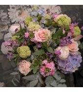 Blue-toonides pastellne lillekimp