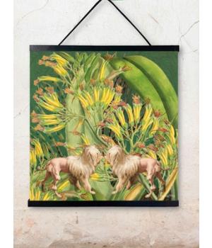 lion dogs 50x50cm.jpg