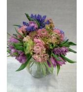 Hooajalised lilled klaasvaasis