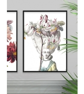 Poster Coiffeur Lilies