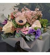 Lillekimp kinkekotis